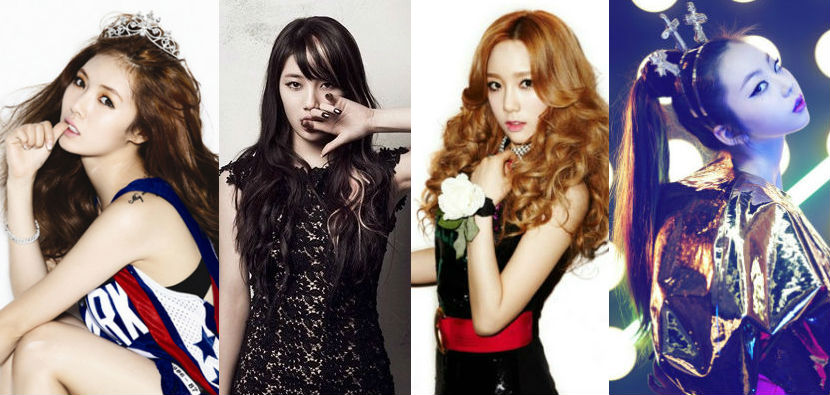 Which Female Idols Would You Select as Members of F4?