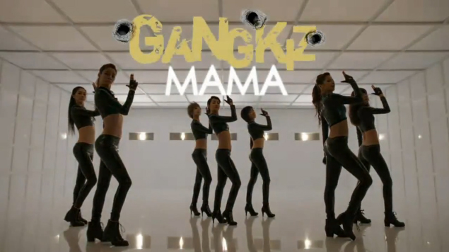 "Gangkiz Releases Music Video for Repackaged Album's Title Track ""MAMA"""