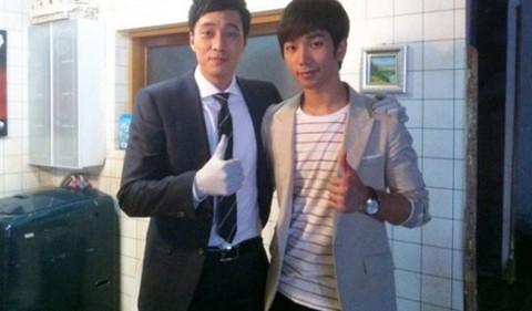 So Ji Sub Teaches MBLAQ's G.O How to Act