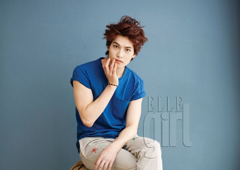 "CN Blue's Lee Jong Hyun is Charming and Unique for ""Elle Girl"""