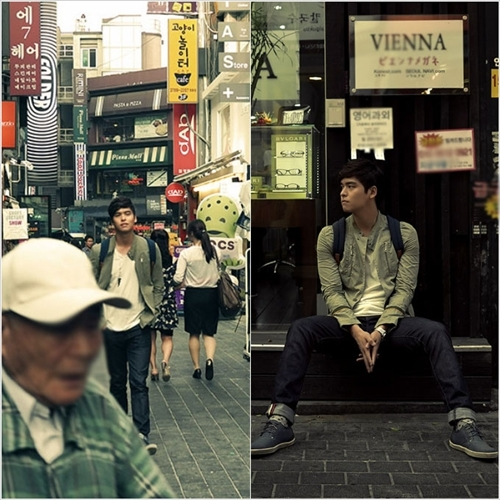 Lee Jang Woo Captured on the Streets of Seoul