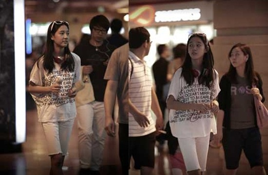 Paparazzi Photos of T-ara's 9th Member Dani Revealed