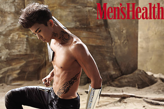 """2PM Wooyoung's BTS Video from """"Men's Health"""" Photo Shoot"""
