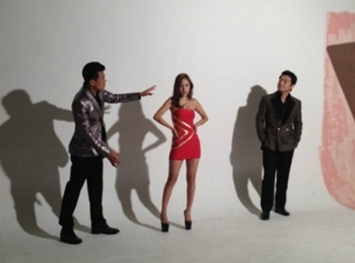 The Beautiful Min Hyo Rin in a Photoshoot with JYP