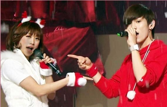 Kara's Nicole Visits SHINee's Key for His Musical