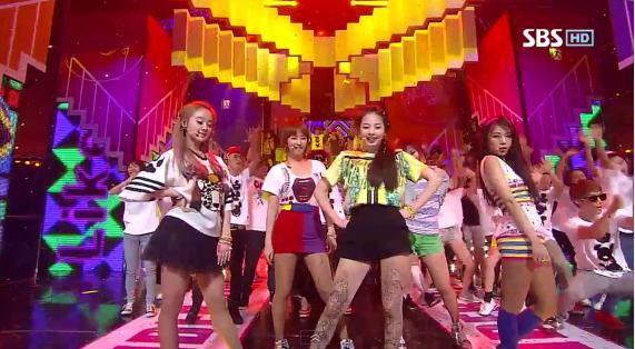 "Wonder Girls Perform ""Like This"" On Inkigayo"