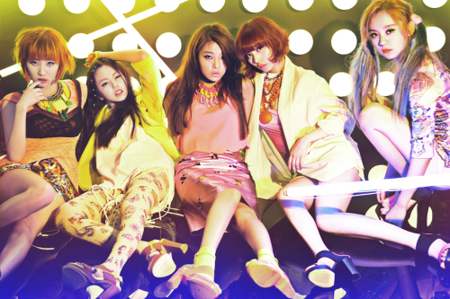 Wonder Girls Wants to Beat JYP on a Music Show