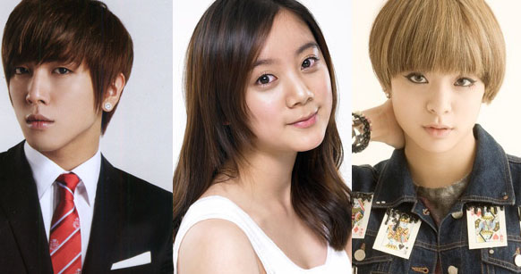 Wonder Girls' Hye Lim Snaps Photo with Jung Yong Hwa, Amber and Fan