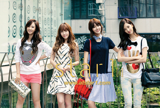 New Cuts from Girls' Generation's @star1 Magazine Pictorial Released