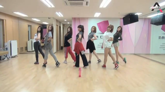 "A Pink Releases Dance Practice for ""Bubibu"""