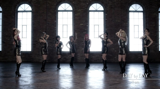 "T-ara Releases Dance Version MV for ""Day By Day"""