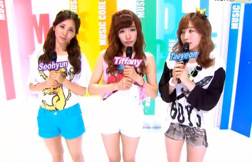 MBC Music Core 07.14.12