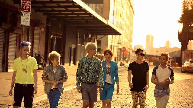 "BEAST Releases Theme Music Video for ""Midnight"""