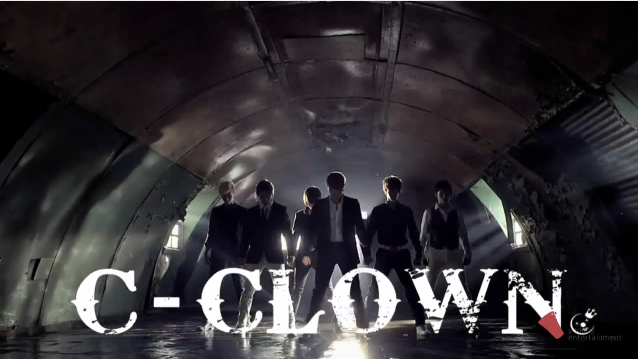 New Boy Group C-Clown Makes Their Debut Performance on Music Core