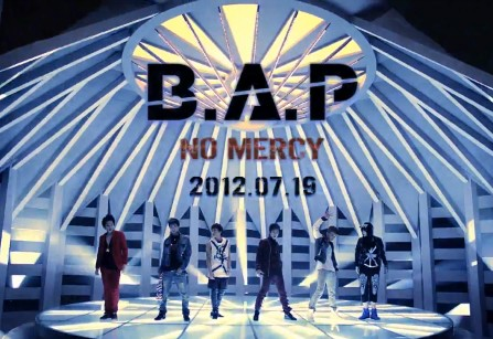 """B.A.P Makes Their Inkigayo Comeback Performance With """"No Mercy"""""""