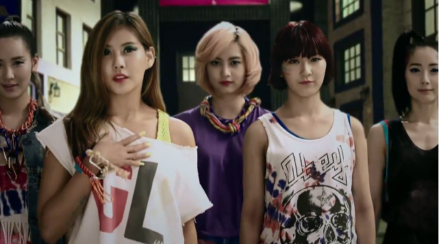 "Rookie Girl Group GLAM Releases Debut MV for ""Party(XXO)"""