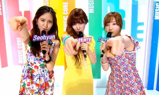 MBC Music Core 07.21.12
