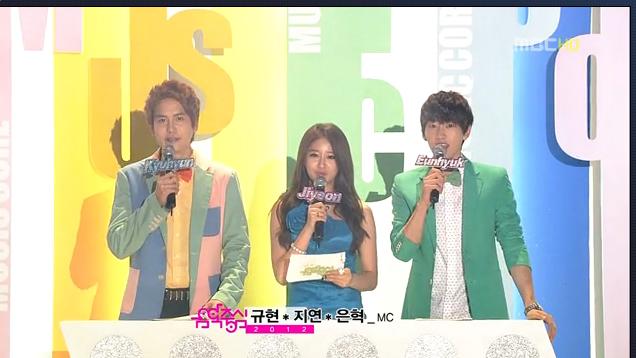 MBC Music Core 07.28.12