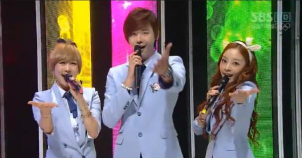 SBS Inkigayo 07.29.12
