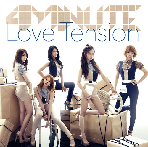 "4minute Reveals Album Jacket for ""Love Tension"""