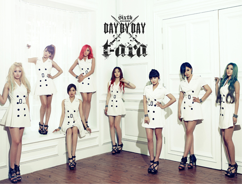 "T-ara to Do a Pantomime Robot Dance for ""Sexy Love"""