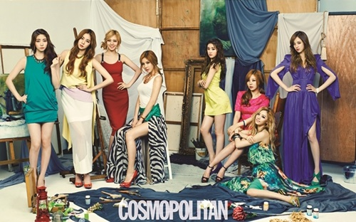 """After School for Cosmopolitan: """"Feel More Responsibility After Kahi's Graduation"""""""