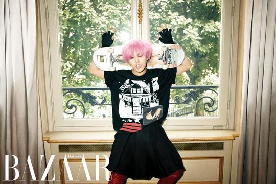 "G-Dragon in a Dress for ""Harper's Bazaar"""