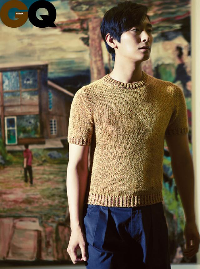 Joo Ji Hoon Poses for GQ and Harper's Bazaar
