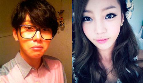 Es ist Junhyung und Hara noch aus dem Jahr 2012