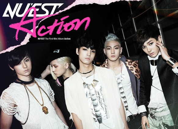 """NU'EST Has Comeback Performance on Inkigayo With """"Not Over You"""" & """"Action"""""""