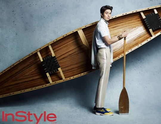 Lee Dong Wook for InStyle Magazine Olympics Edition