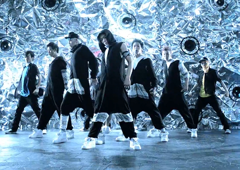 """B.A.P Performs """"No Mercy"""" for Music Core Comeback"""
