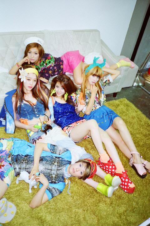 Weekly K-Pop Music Chart 2012 – July Week 2