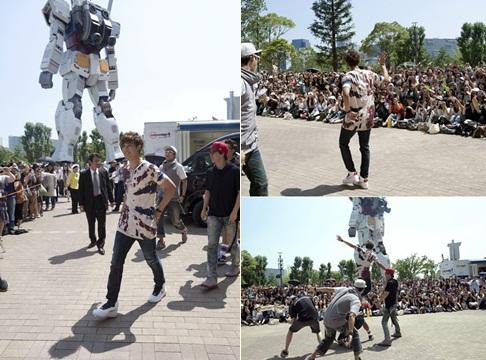 Kim Hyun Joong Holds Guerrilla Concert