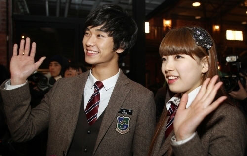 Kim Soo Hyun and Suzy Dream High