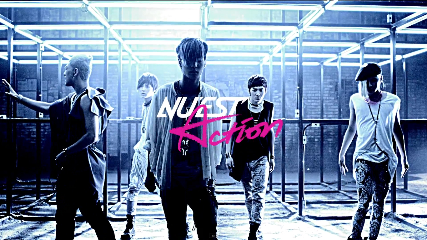 "NU'EST Releases Teaser Video for Comeback Single ""Action"""