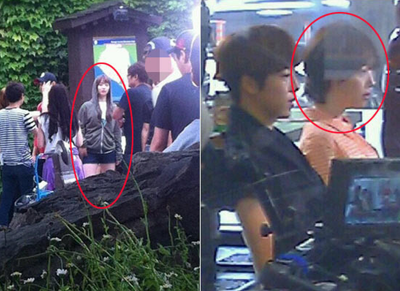 "Photos of f(x)'s Sulli on the Set of ""To the Beautiful You"" Surface"