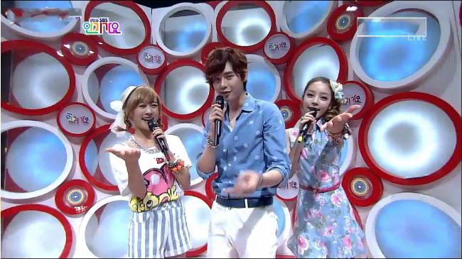 SBS inkigayo 070112
