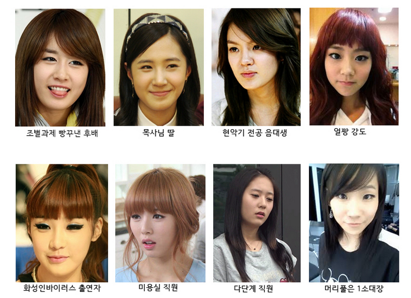 Potential Jobs for Girl Group Members Based on Their Appearances