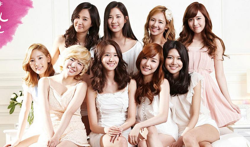Girls' Generation Flaunt Their Nine Charms