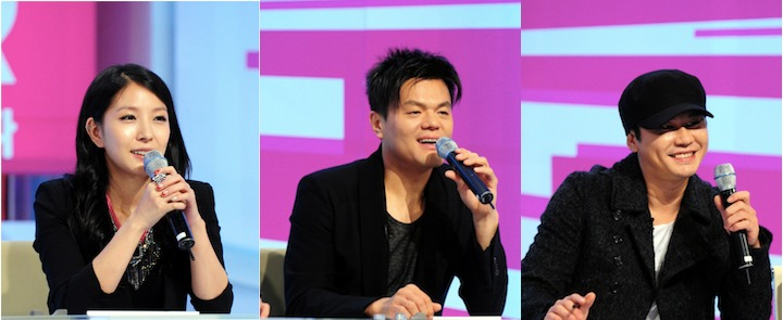 """K-Pop Star"" Judges JYP, Yang Hyun Suk, and BoA Reunite"