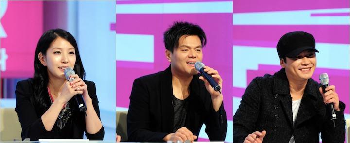 """K-Pop Star"" Judges JYP, Yang Hyun Suk, and BoA Reunite"