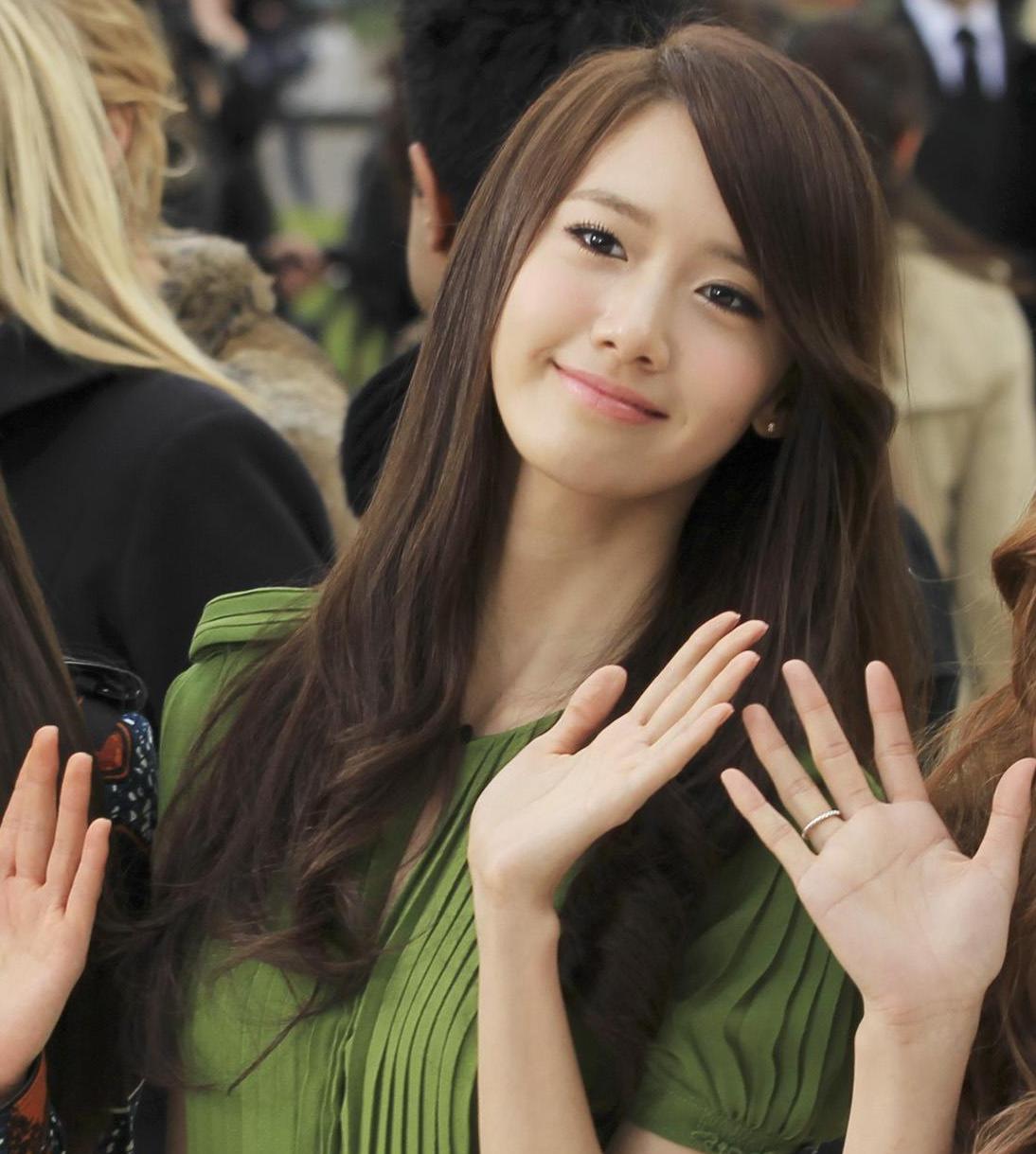 YoonA's Marine Look Airport Fashion