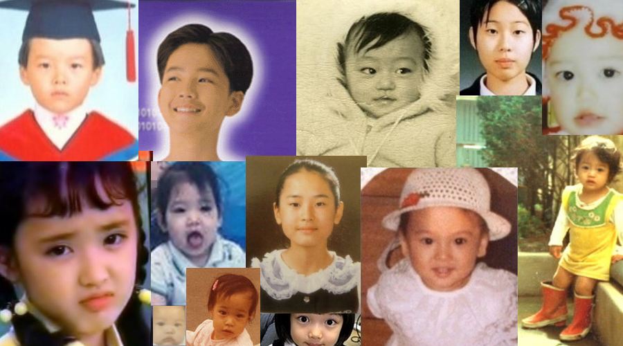Celebrity Baby Photos! Kdrama Actor/Actress Edition!