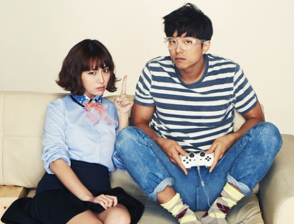 Lee Min Jung Pecks Gong Yoo on the Cheek Repeatedly