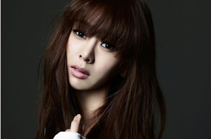 G.NA's New Hair Color