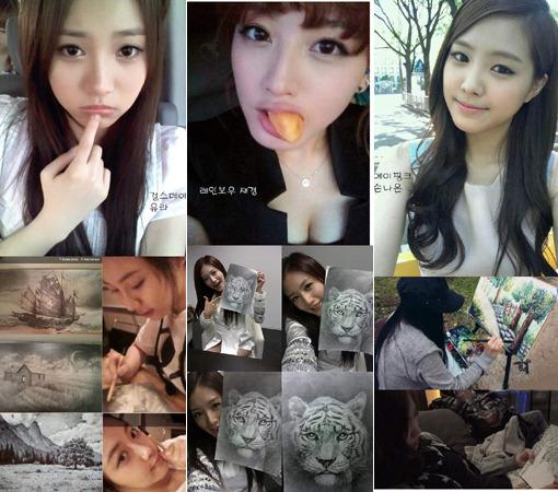 Idol Stars Show Off Their Artistic Skills