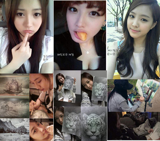 Idol Stars Show Off Their Artistic Skills