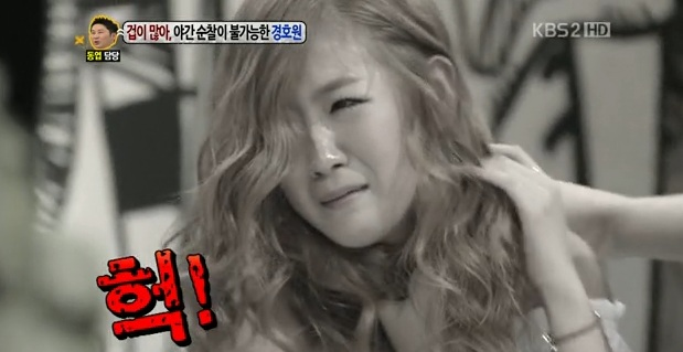"""SISTAR Horrified by Ghost's Attack, Stops Recording of KBS """"Talk Show Hello"""""""