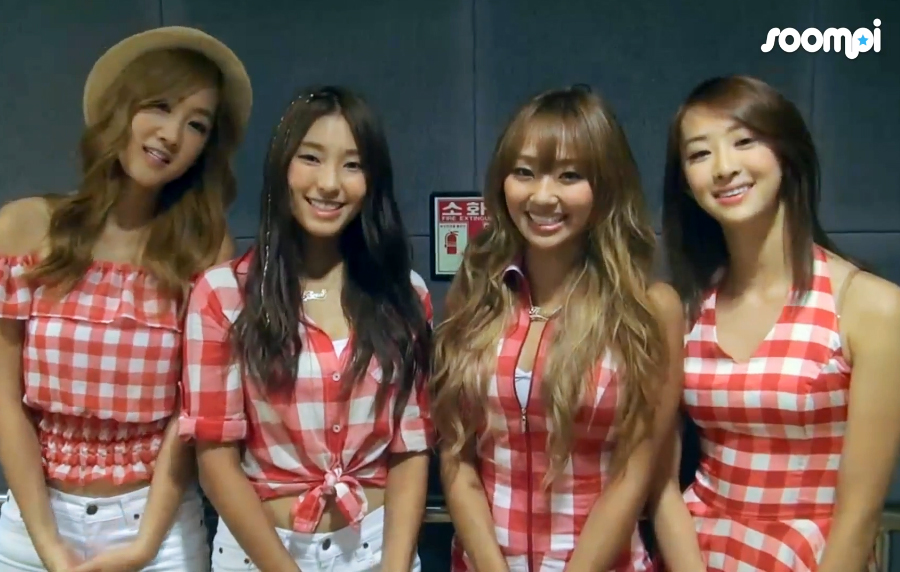 [Exclusive] SISTAR Wishes Soompiers a Great Summer!
